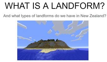 Minecraft Landform Workshop