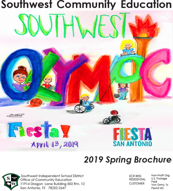 2019 Spring Brochure