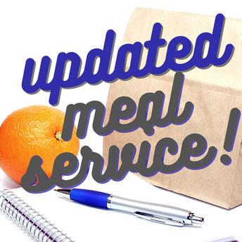 Actualización sobre el Servicio de Alimentos