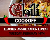 Chili Cook-off Teacher Appreciation Lunch