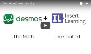 MATH TEACHERS! Desmos + Insert Learning!