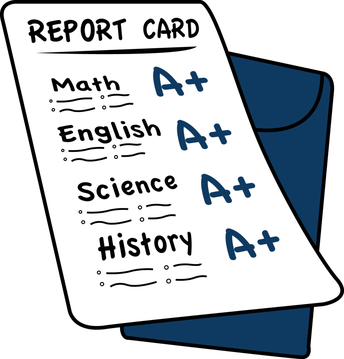 Distance Learning Progress Report Cards