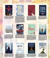 Iowa High School Book Award 2017-2018 Reading List