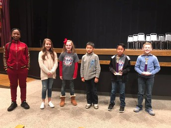 Peake Students in Clark County Spelling Bee
