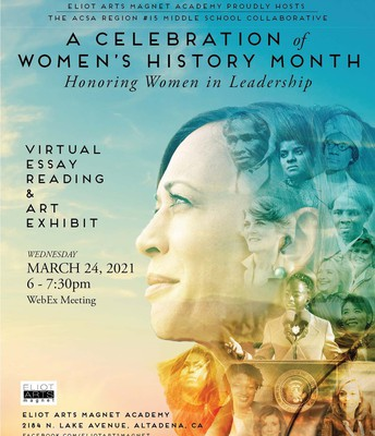 PUSD's Women's History Assembly is March 24