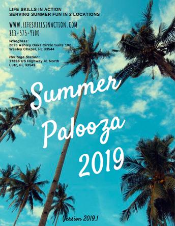 Summer Palooza 2019
