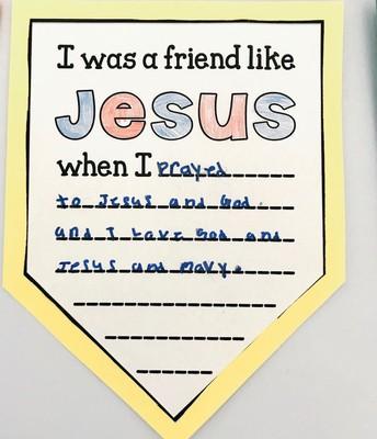 I was a friend like Jesus when I...