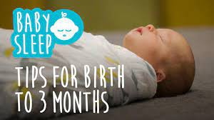 Coping with Sleep Challenges: Birth to 3 Months