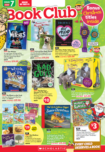 SCHOLASTIC BOOKCLUB ISSUE NUMBER 7