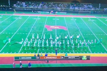 Wildcat Cat Band on the Big Screen