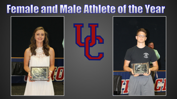 Female and Male Athletes of the Year