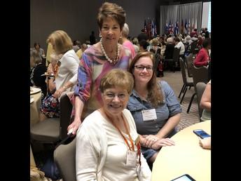 Dr. Hannah Fowler, Mary Jane, and Gina