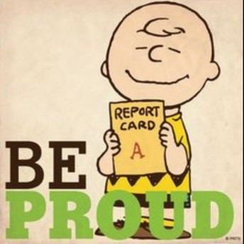 Report Cards Go Home on Wednesday, February 12th.