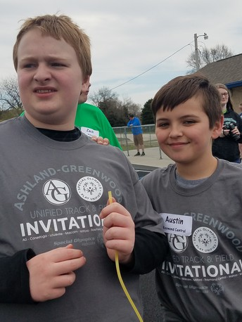 Unified Track Meet in Ashland 4/26/18