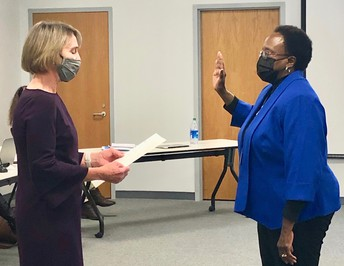 Reappointed Board Member Kathy Dill