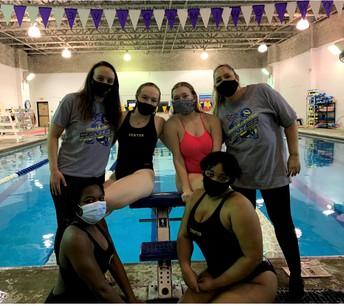 Swim Seniors and Coaches