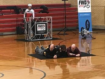 Forward Motion BMX Assembly at CRES