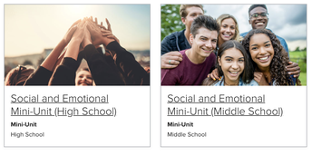 StudySync added Social Emotional Learning (SEL) units to its library