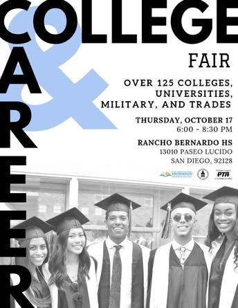 Annual PUSD College and Career Fair Oct. 17