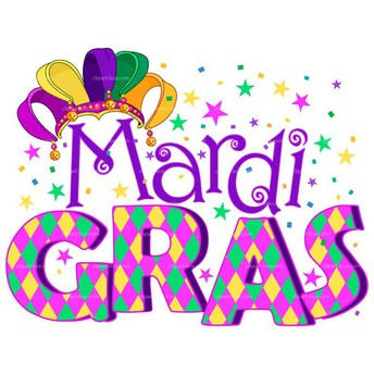 It's Mardi Gras time! Ticket order forms are due Friday, February 9th!