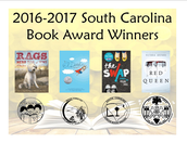 South Carolina Book Award WINNERS!