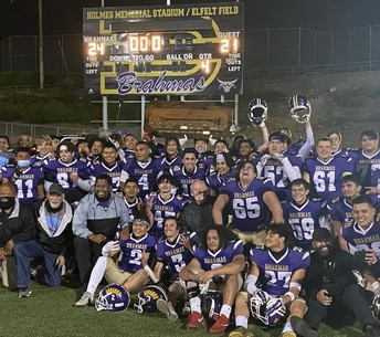 Congratulations to our Brahma Football Team on winning the Branding Iron Game!
