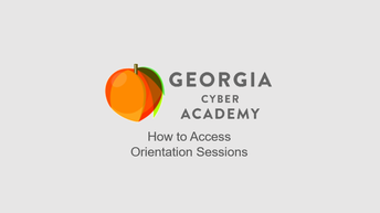 How to Access Live Orientation Sessions