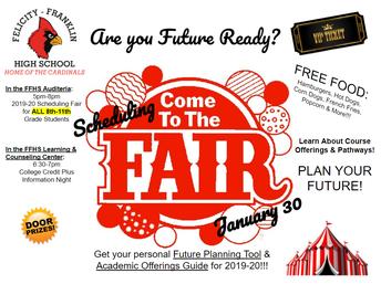 High School Scheduling Fair- 8th Grade