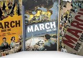 March Trilogy by John Lewis & Andrew Aydin; Art by Nate Powell
