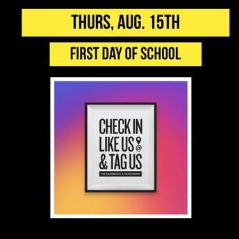 August 15th  8:00 am