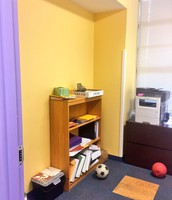 Before Pic of Mindfulness Room @ Andrews ES