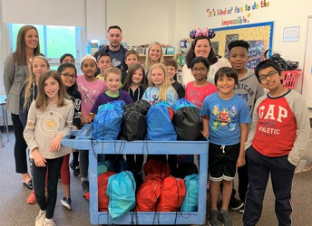 High Plain Elementary Student Ambassadors Community Service Project