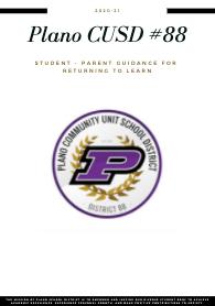 Student-Parent Guidance for Returning to Learn (Orientación para estudiantes y padres para volver a aprender)