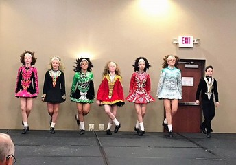 Trinity Irish Dancers performing at NFMC Conference