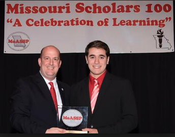 ATTENTION HIGH SCHOOL PRINCIPALS...25th Annual Missouri Scholars 100 Scheduled for April 28