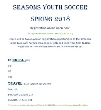4 Seasons Soccer