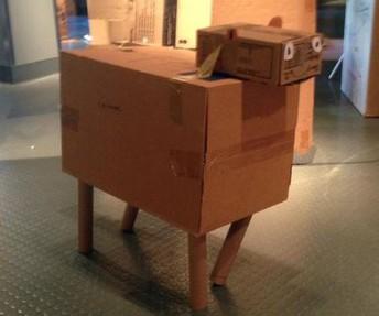 November STEM Camp - Cardboard Challenge :)