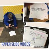 Paper Slide Videos @WMS