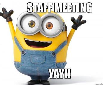 Staff Collaboration Meetings 1/30 & Upcoming Meetings