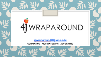Wraparound Team: Contact Us