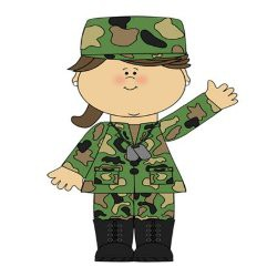 SPIRIT DAY This Week is Honoring Veterans by Wearing Camo or Red, White and Blue