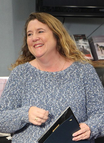 Congratulations Stacey Wasson of Redwood Middle - CVUSD's December Teacher of the Month!