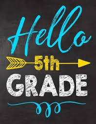 5th Grade Weekly Newsletter