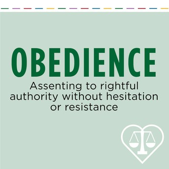 THE VIRTUE OF OBEDIENCE