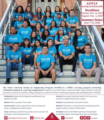 U of A- Native American Science and Engineering Program