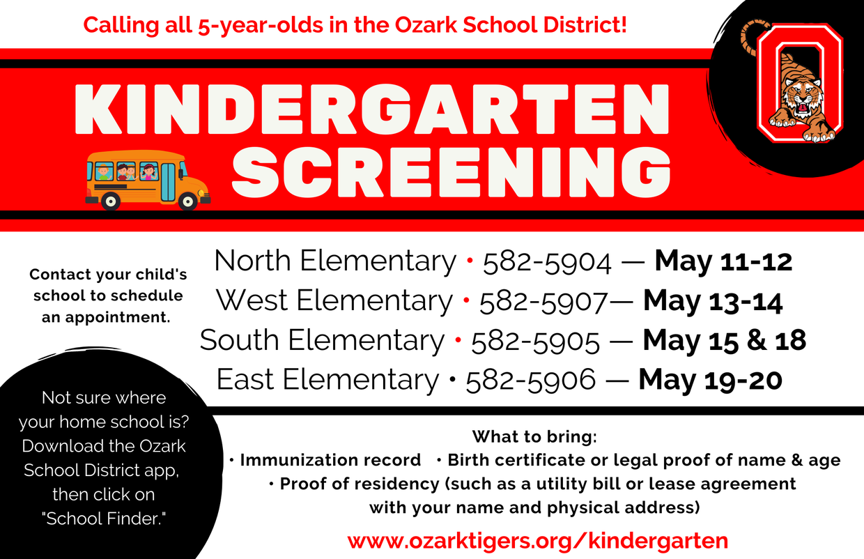 kindergarten screening graphic