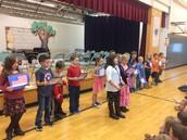 2nd grade whole school presentation
