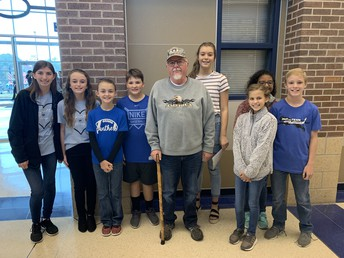 Junior High Student Council Members Serve as Ushers