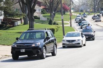 Loveland Staff Car Parade
