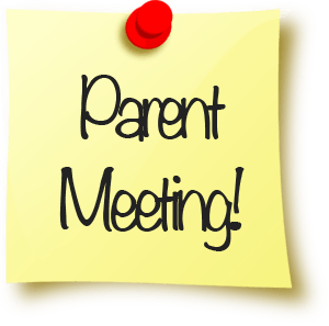 Did you miss our parent meetings this week?